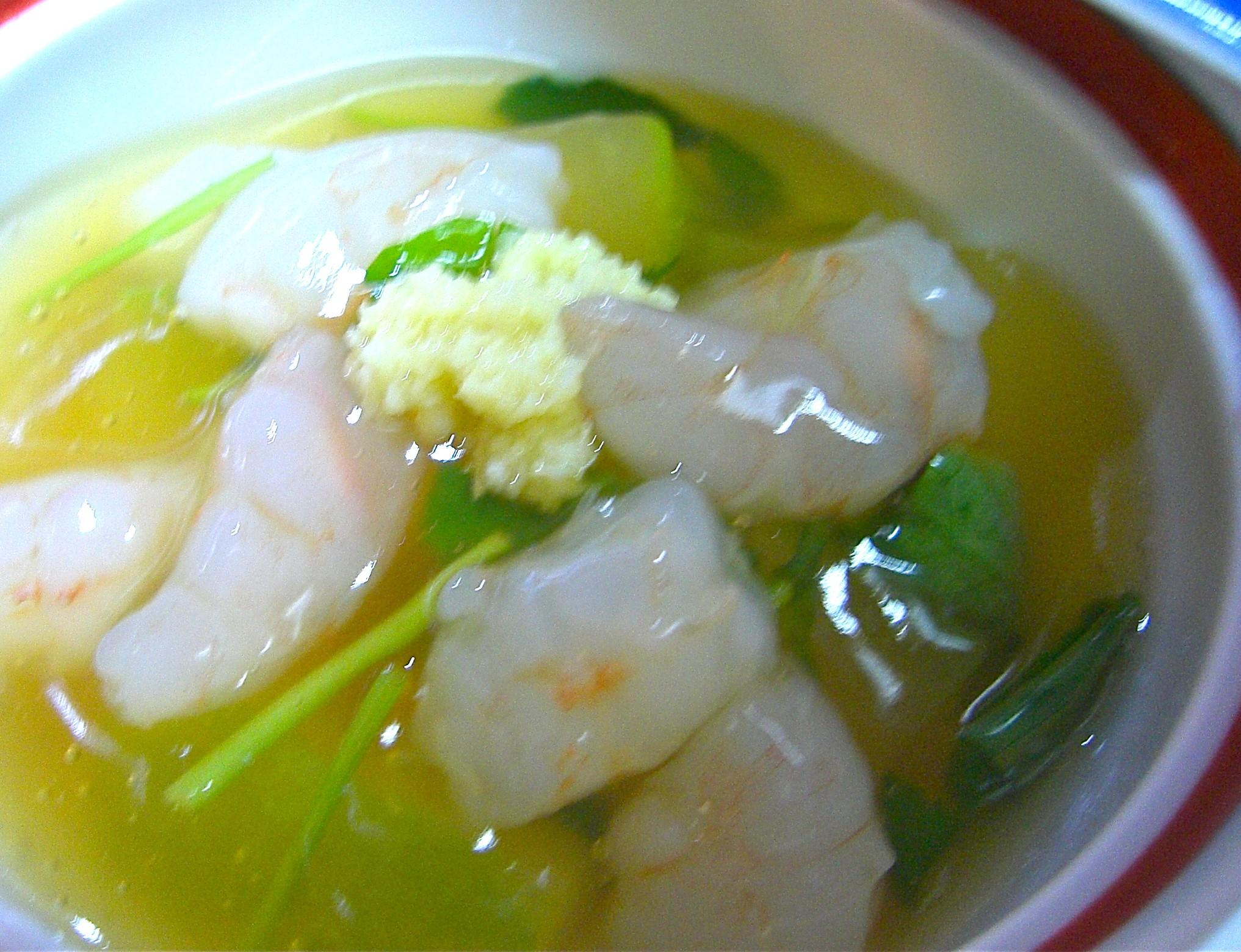冬瓜の海老あんかけ(冬瓜料理4)
