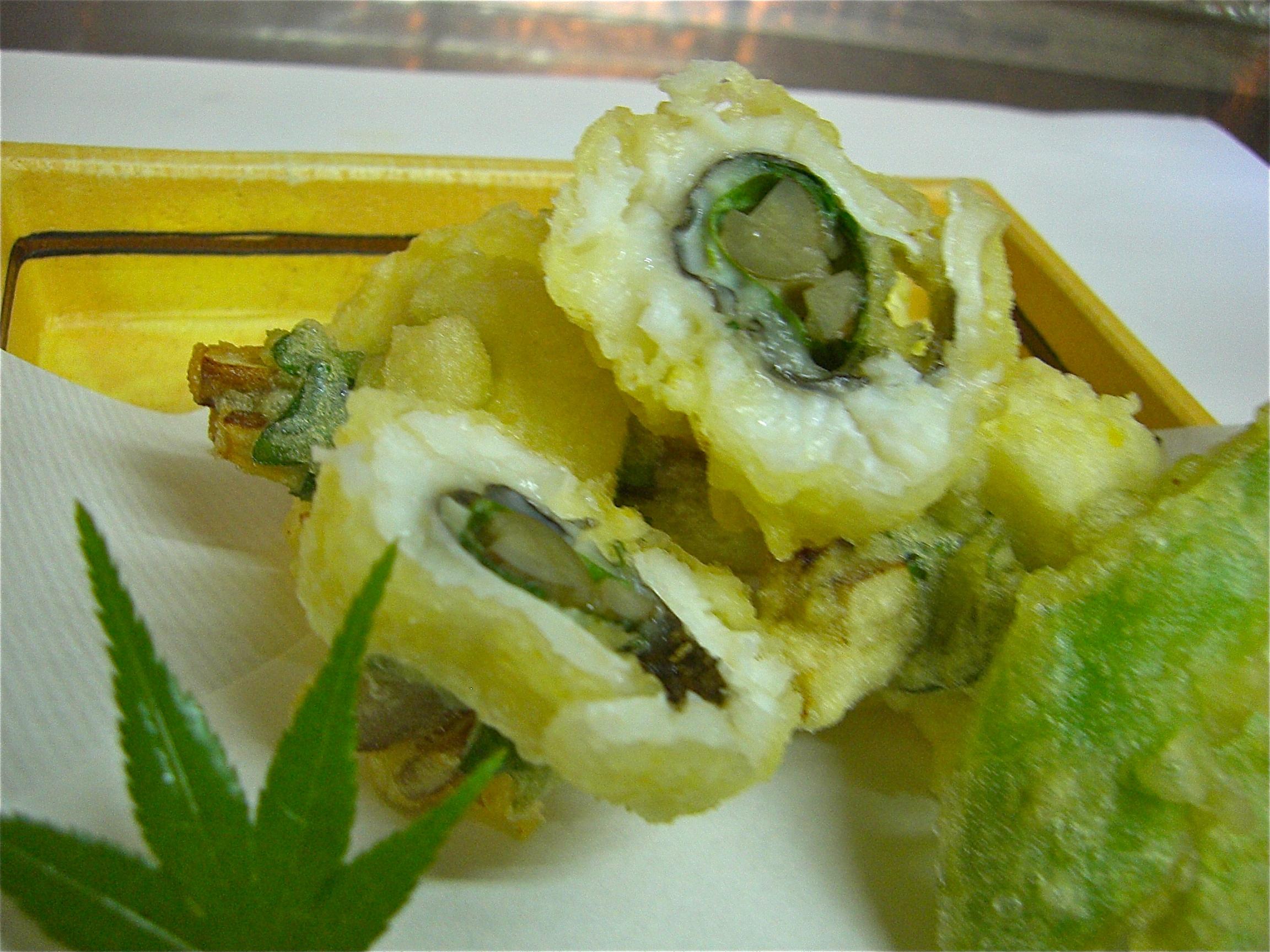 鱧の牛蒡巻き揚げ(鱧料理5)
