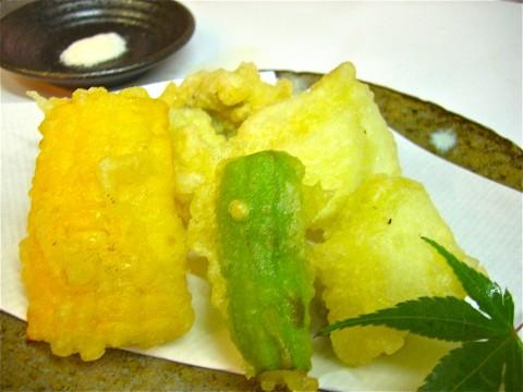 揚げ物(鱧の天ぷら)