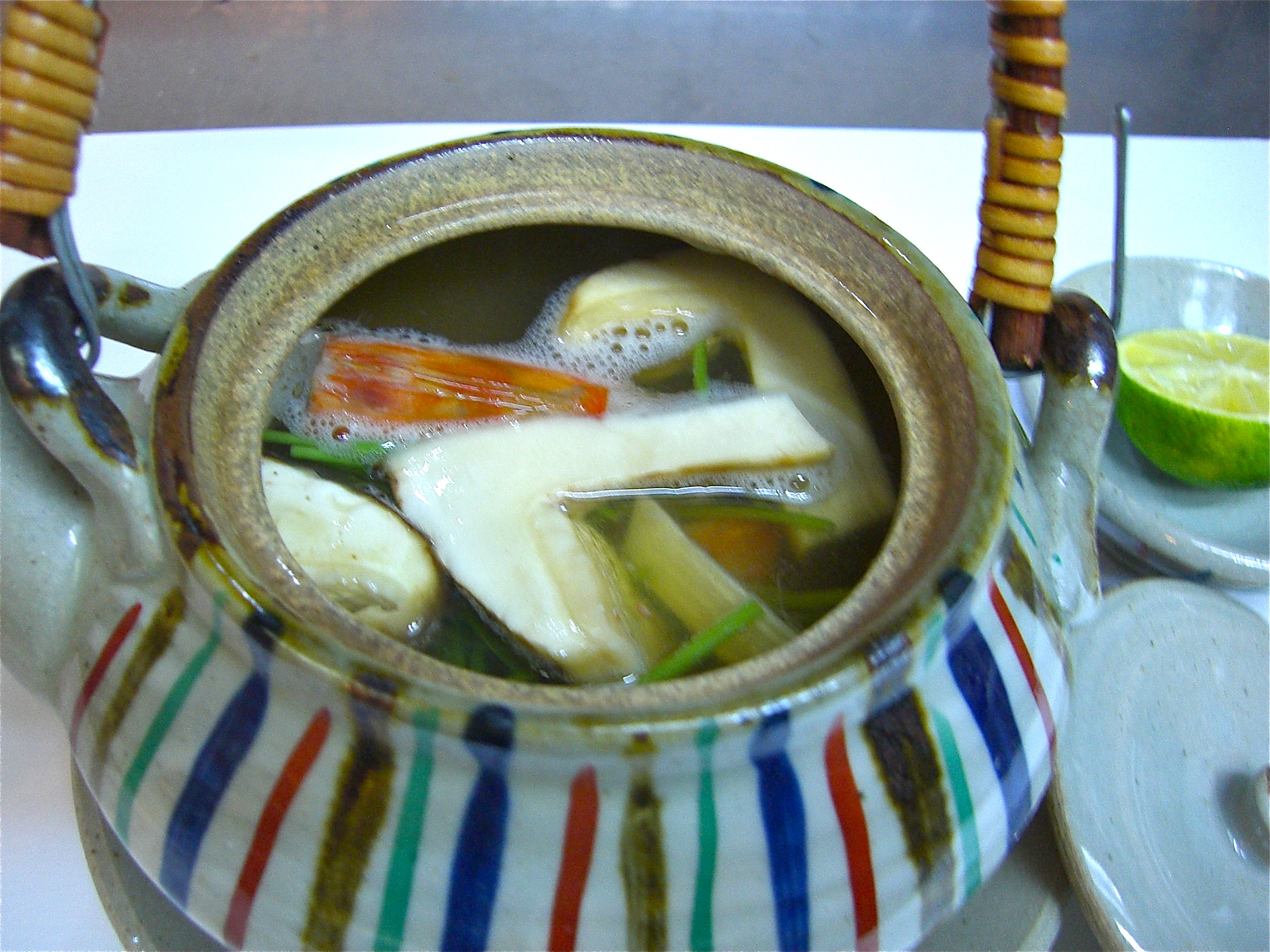 松茸土瓶蒸し(松茸料理1)