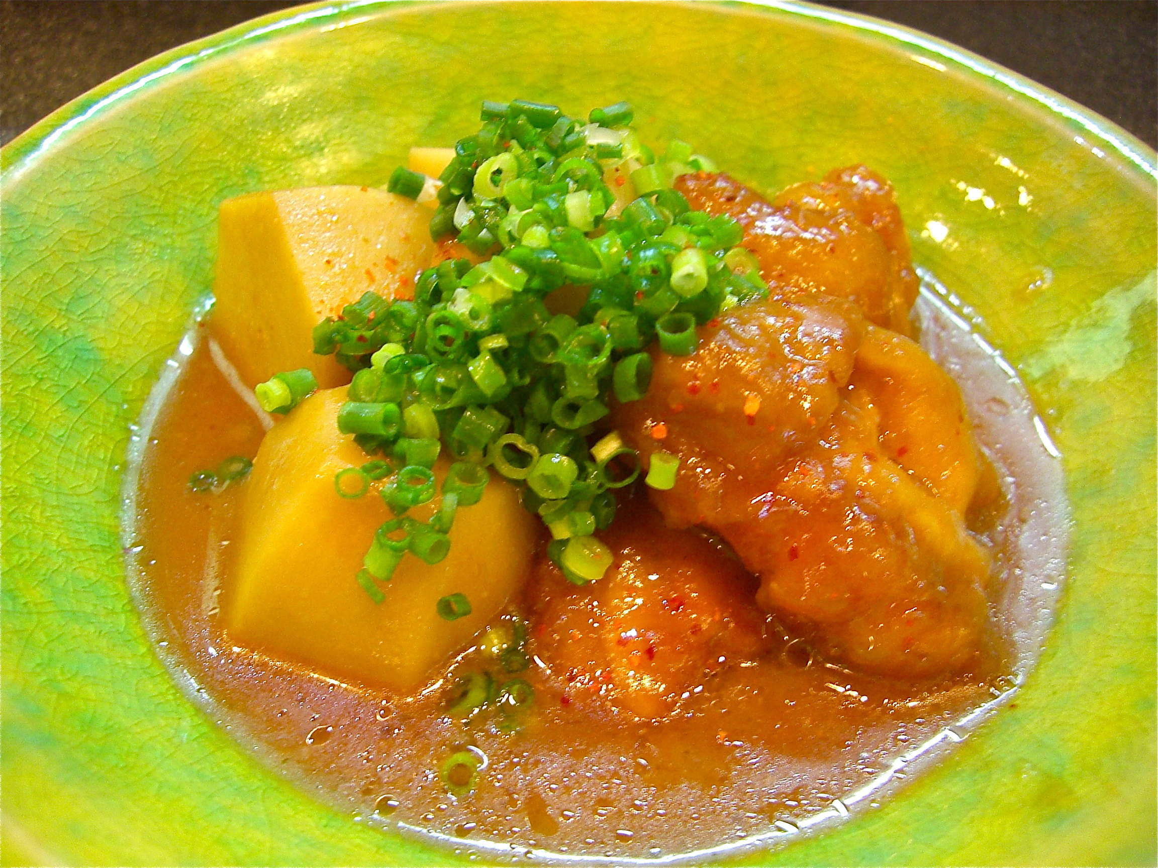 小芋と地鶏の味噌煮(地鶏料理10)(小芋料理1)