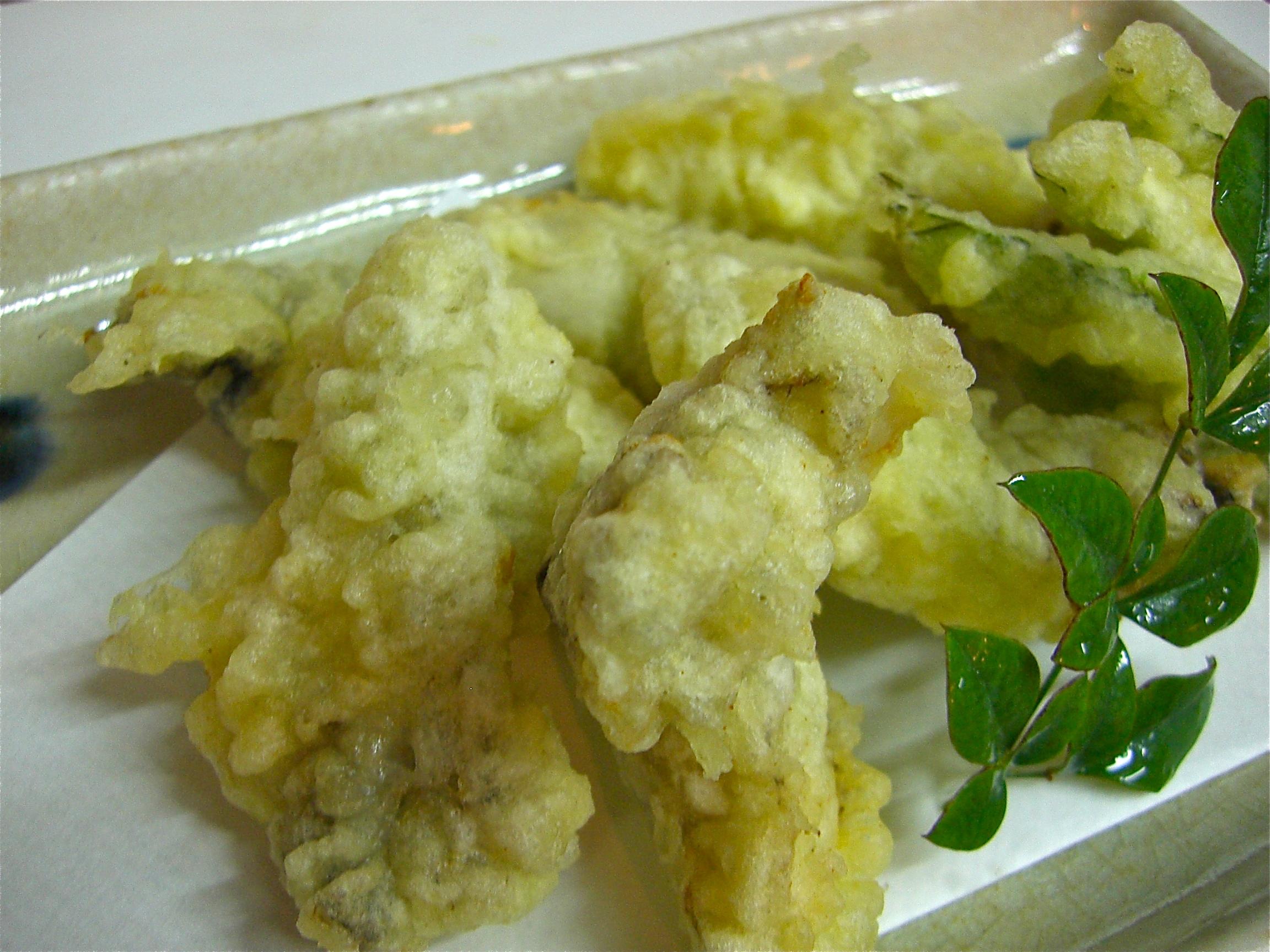 かきの天ぷら(かき料理6)