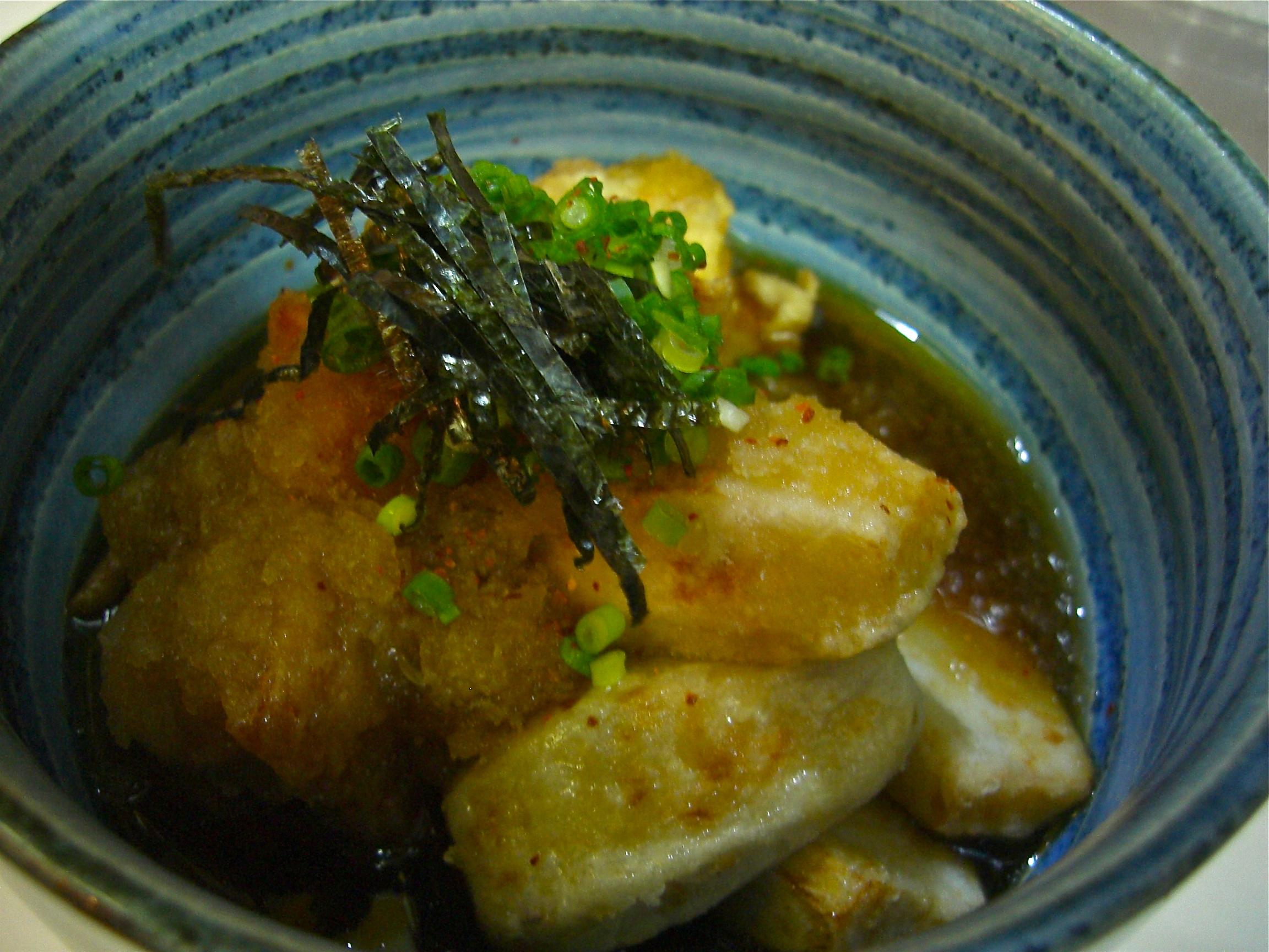 海老芋と地鶏のみぞれ煮(海老芋料理2)(地鶏料理11)