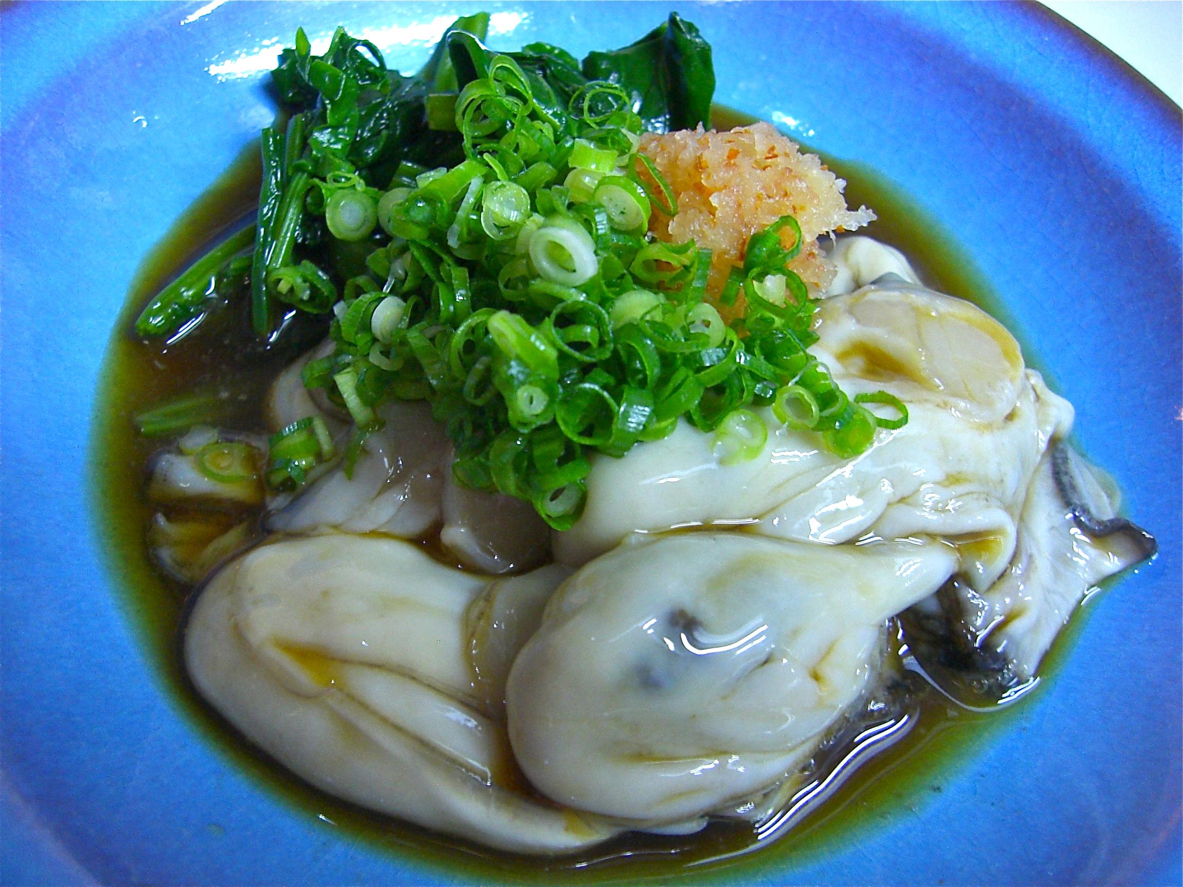 かき酢(ポン酢)(かき料理8)