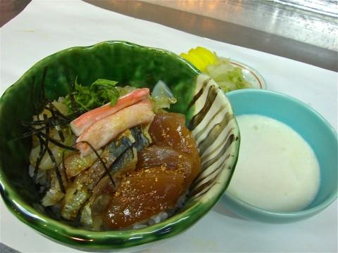 海鮮とろろかけご飯
