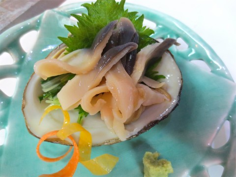 活ほっき貝造り