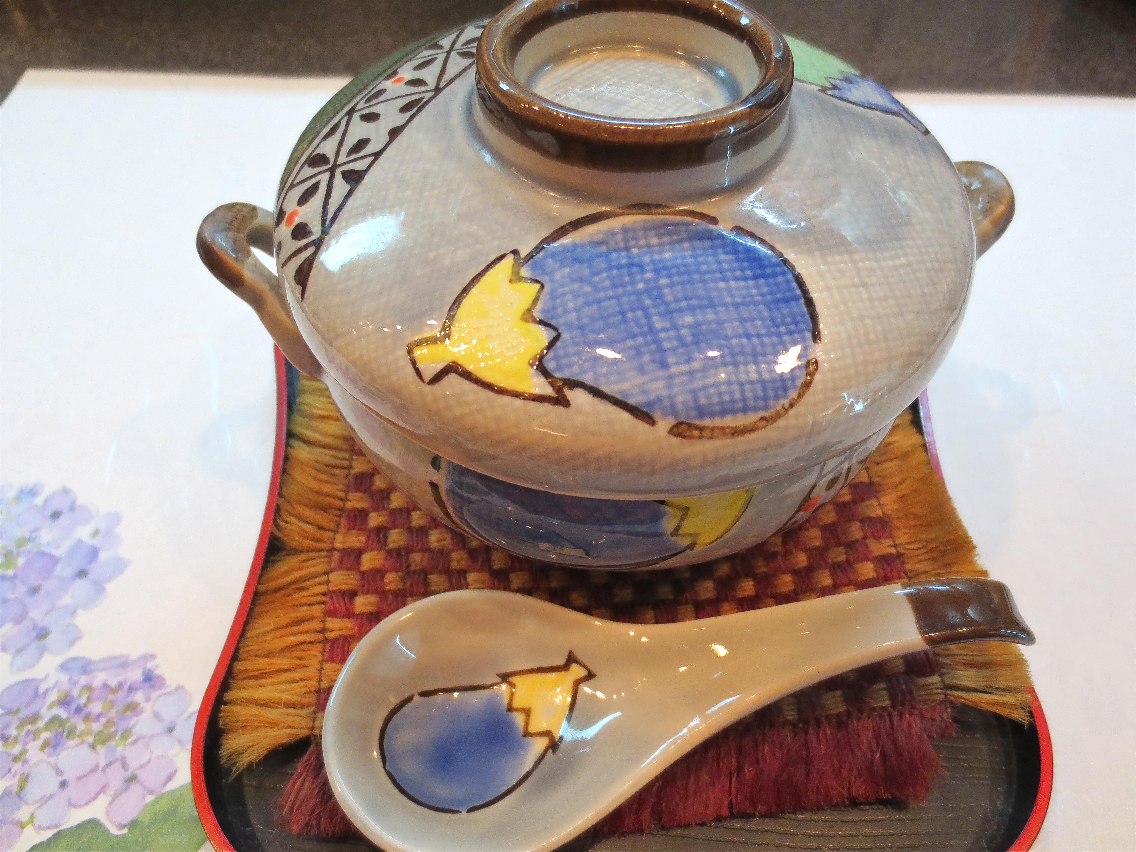 小芋と海老の味噌グラタン