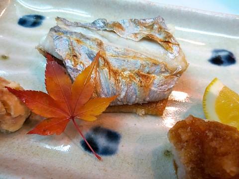 太刀魚塩焼