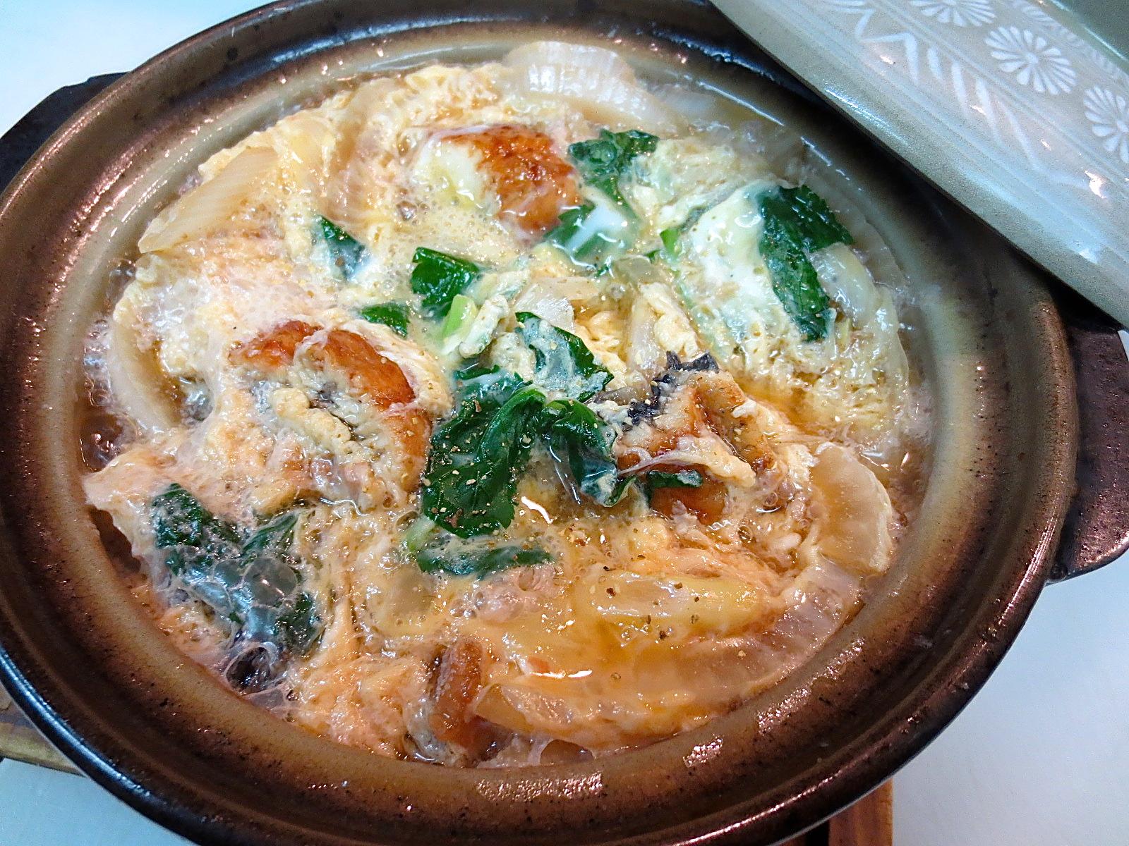 鰻 玉葱 白葱玉〆(小鍋)