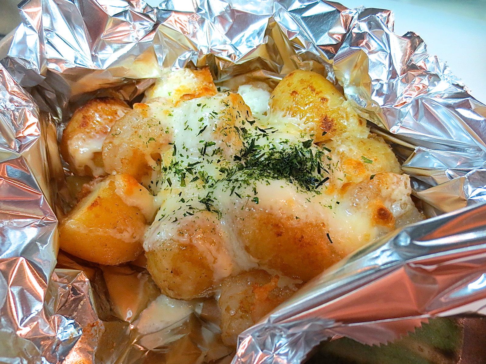 海老 男爵芋マヨチーズ焼き