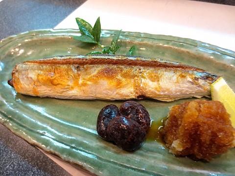 秋刀魚の塩焼