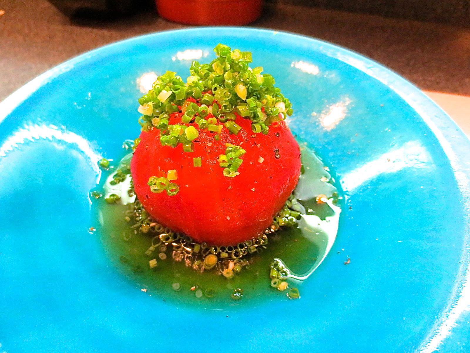 冷やしトマトの旨煮