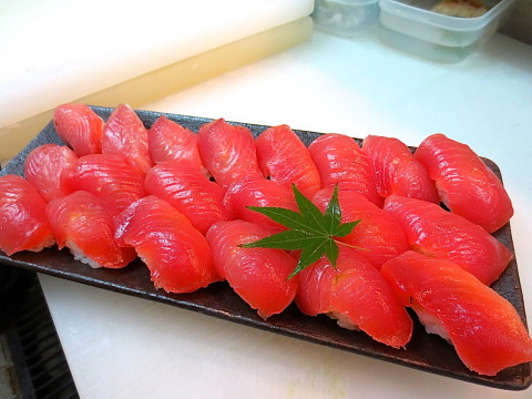 よこわのにぎり寿司
