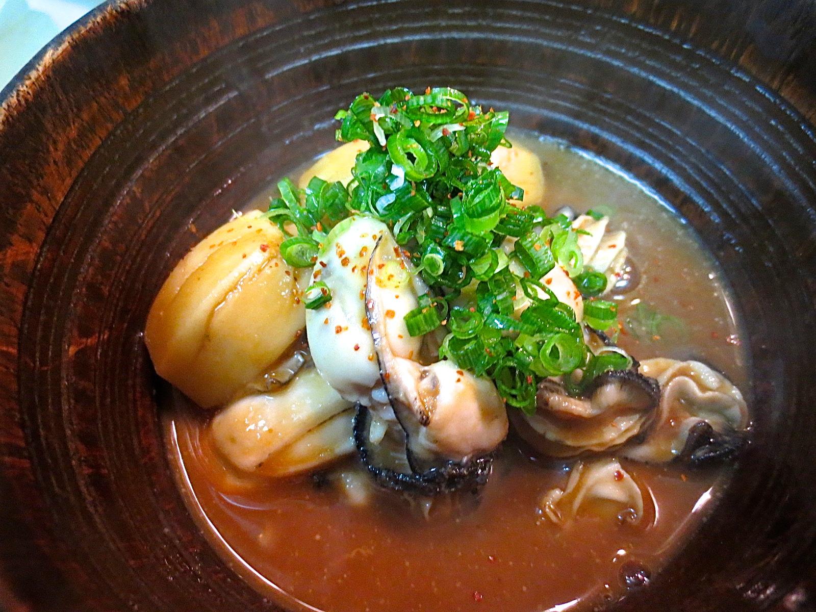 海老芋とかき味噌煮