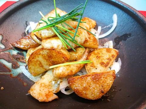 イカと長芋マヨネーズしょう油焼き