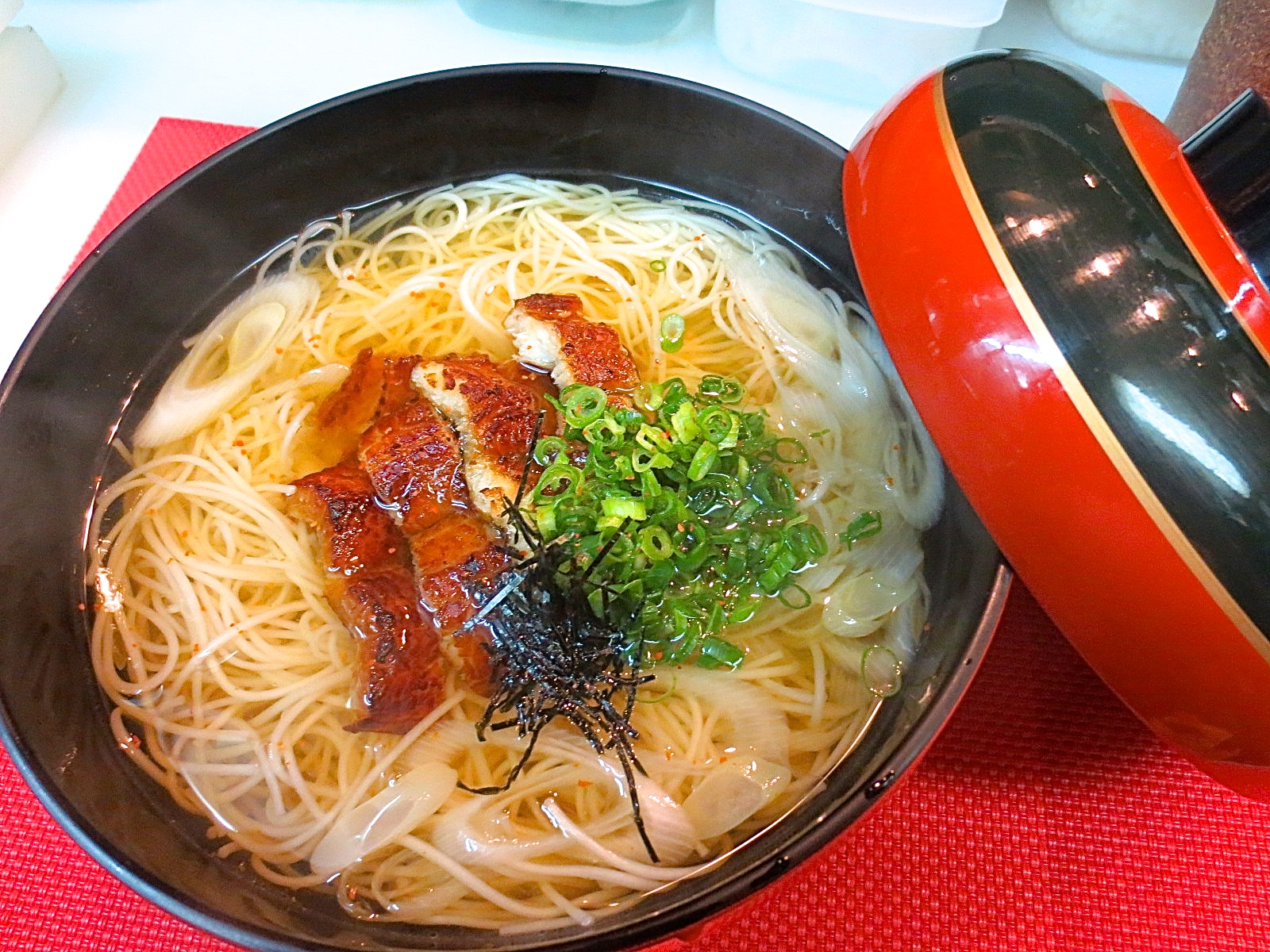 焼き穴子入り煮麺