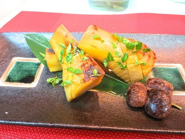 竹の子木の芽醤油焼き