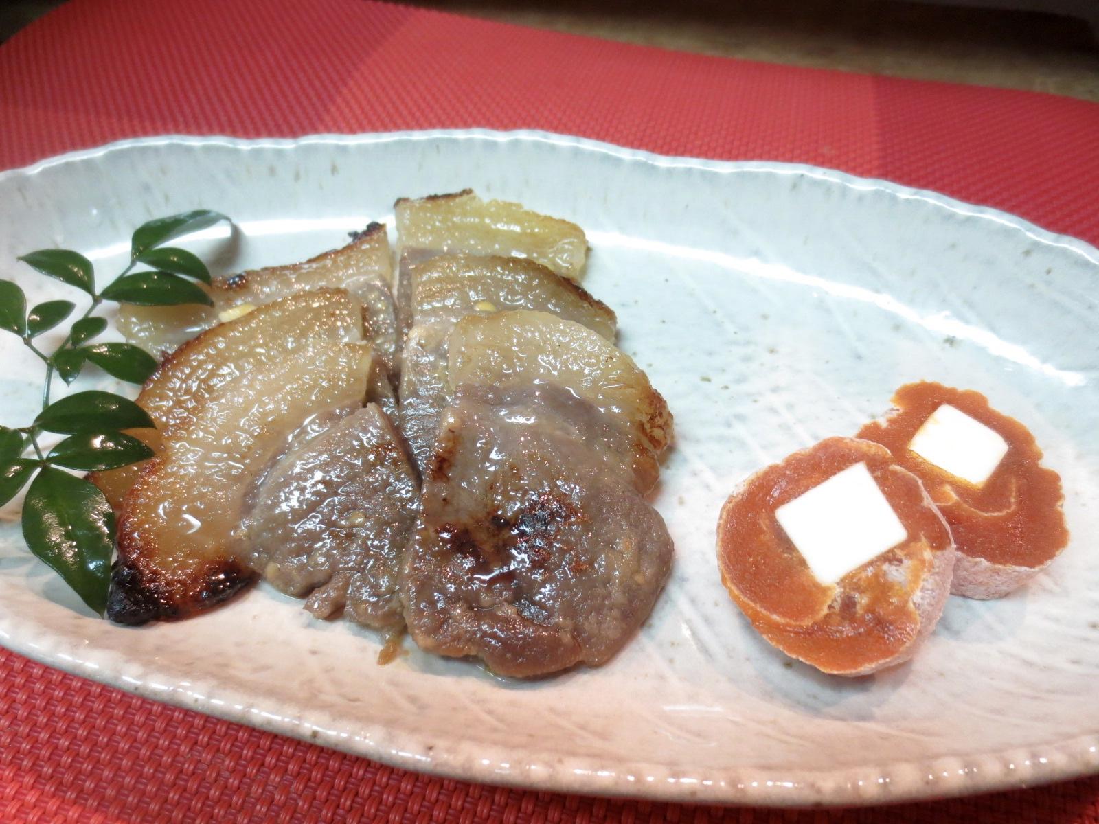 猪肉味噌漬け焼き