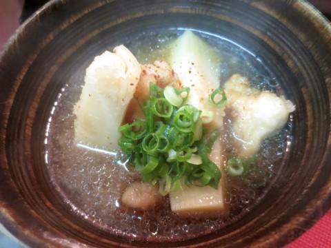 竹の子牛すじ煮