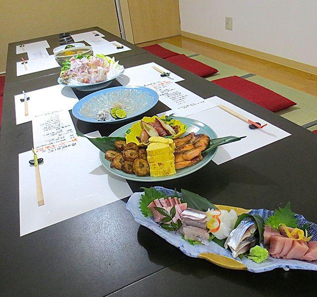 美味旬彩「塩井」貸切個室でのお料理