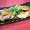 牛ロース、水茄子、冬瓜味噌炒め