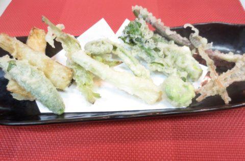 春野菜天ぷら