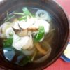 松茸、鱧、玉葱あっさり煮