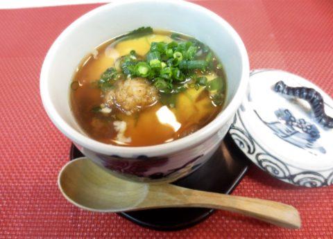 牡蠣入り茶碗蒸し