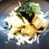 地とり天ぷら(タルタルソースがけ)