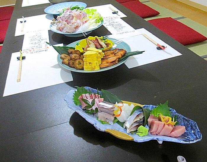 美味旬彩「塩井」貸切個室 テーブルセッティング例