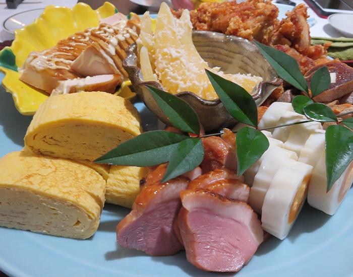 美味旬彩「塩井」貸切個室 前菜盛り合わせ