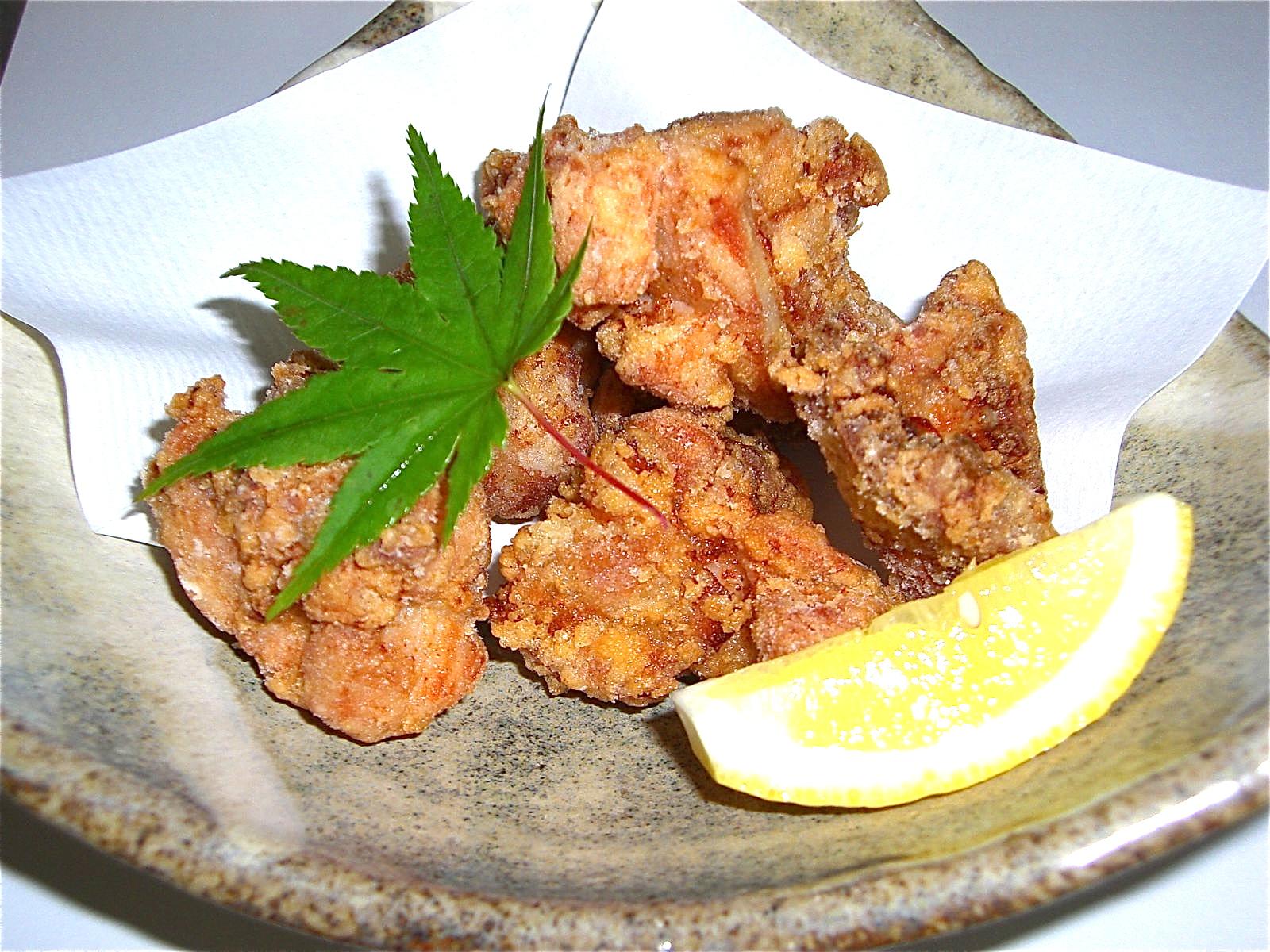 地鶏の竜田揚げ(地鶏料理4)