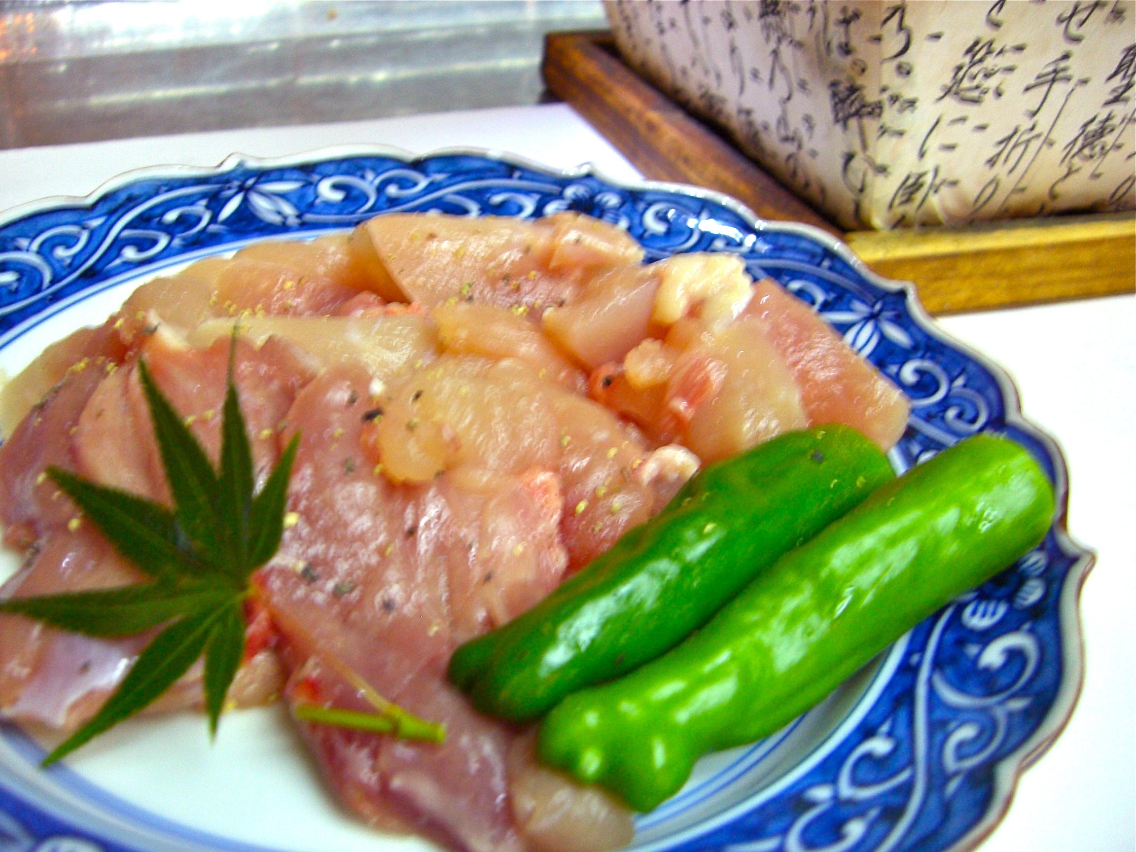 地鶏の炭火焼(地鶏料理7)