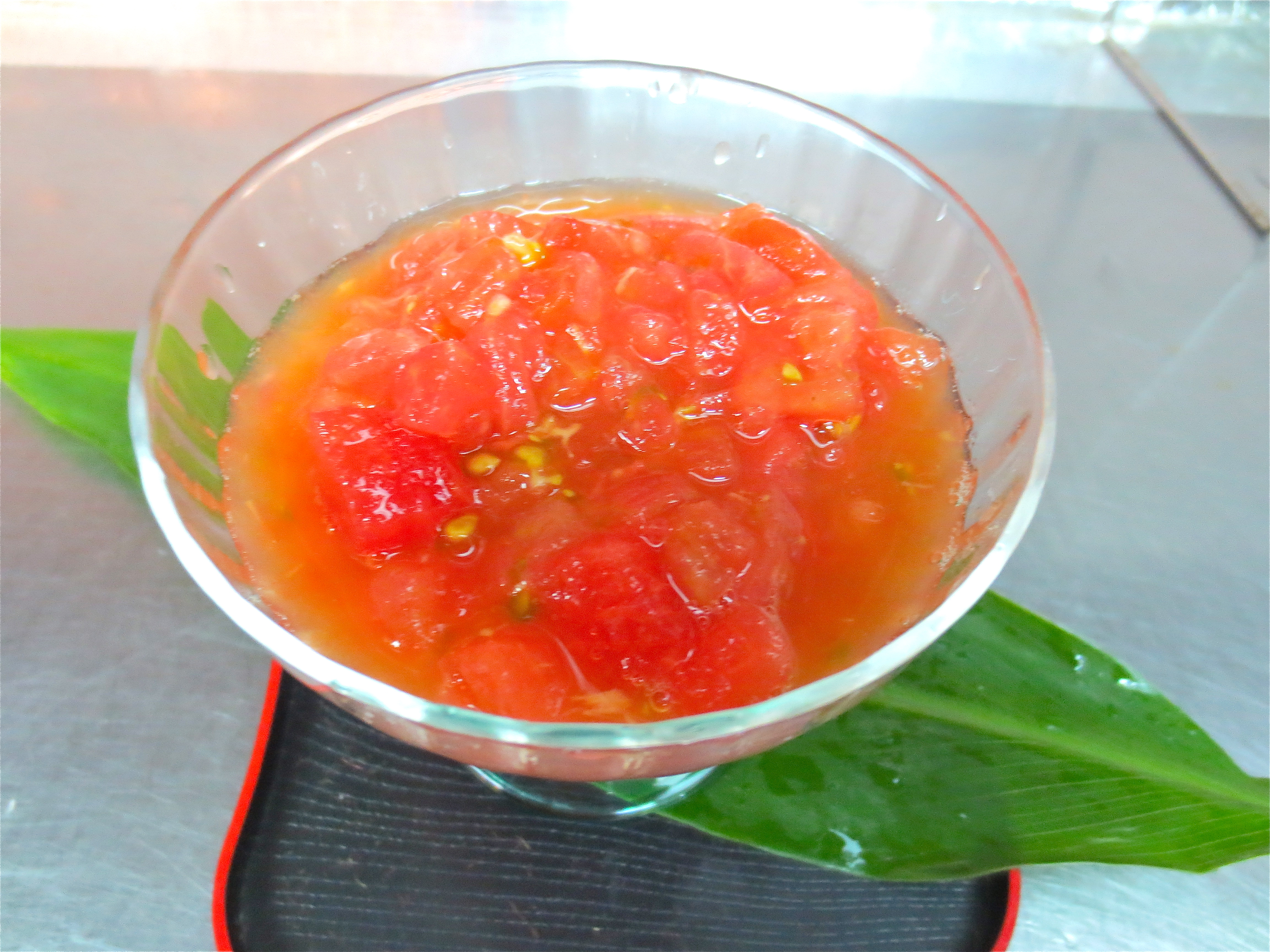食べるトマトスープ(冷)