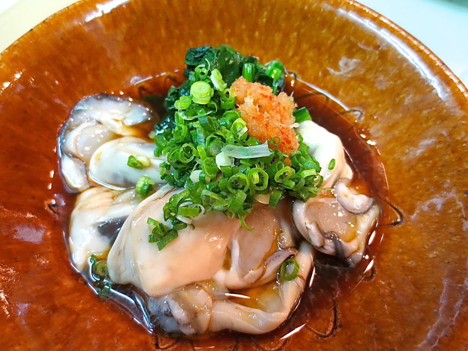 かき酢(ポン酢)