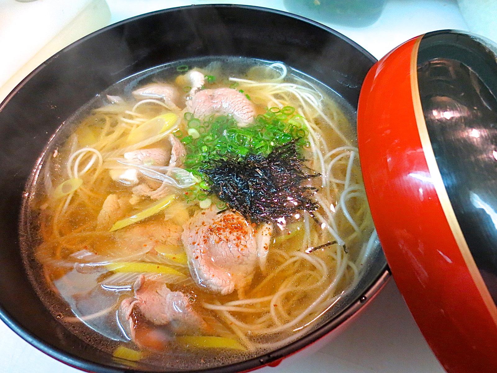 合鴨入り煮麺