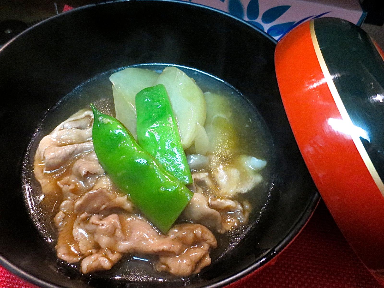 かぶらとアグー豚生姜煮