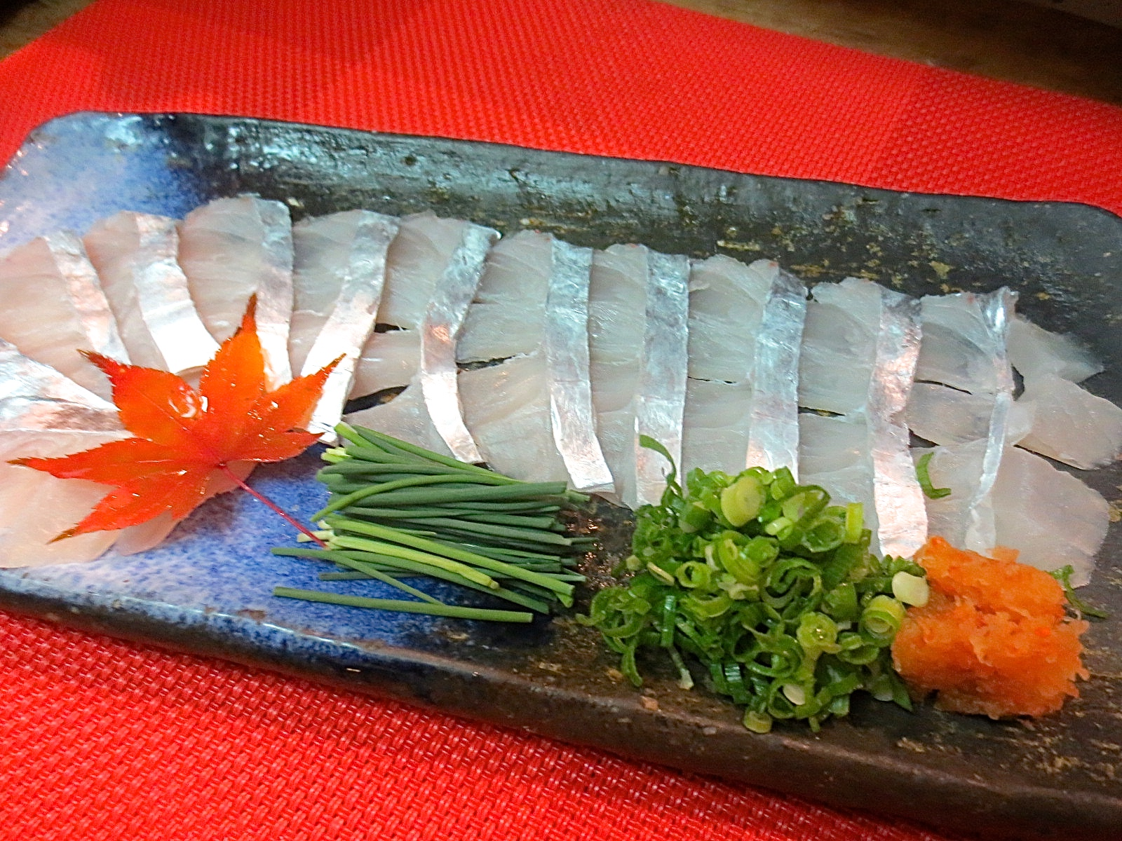 太刀魚うす造り