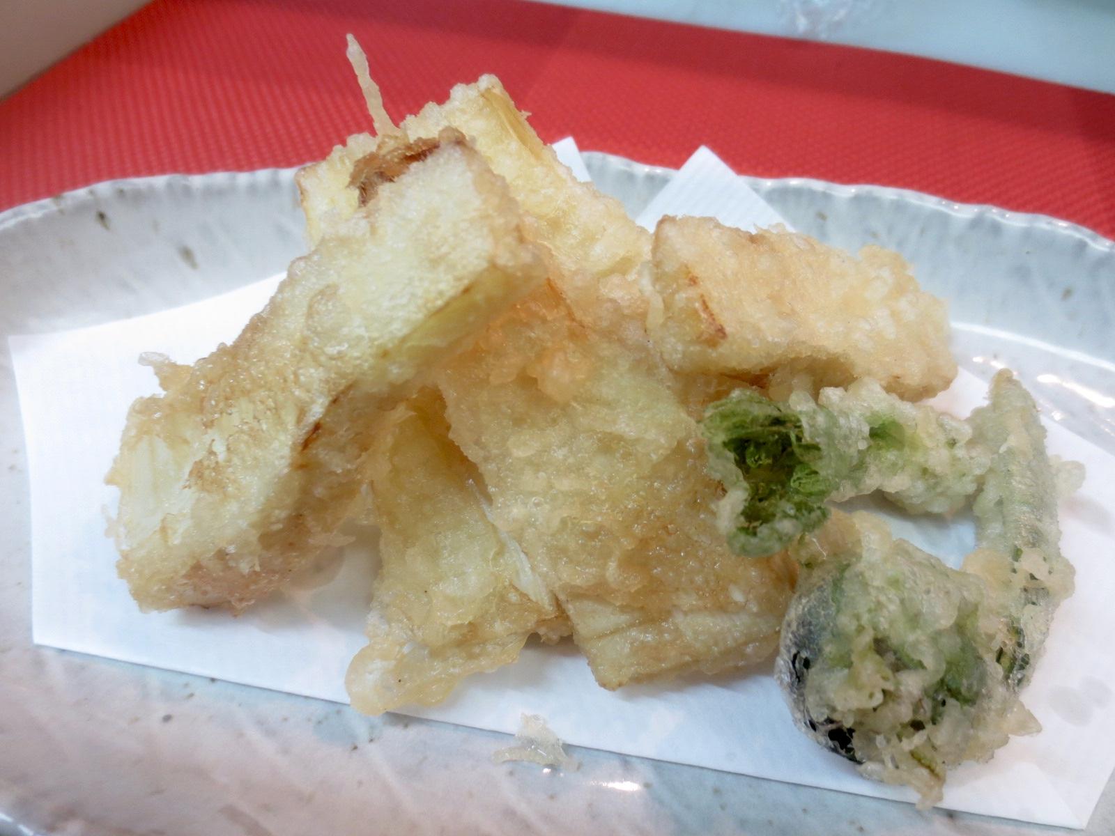 竹の子天ぷら