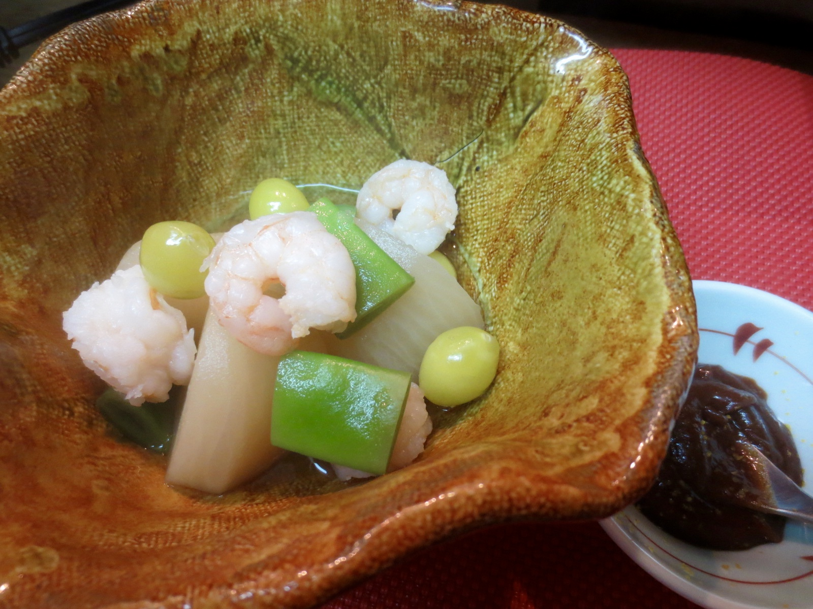 ふろふき蕪(柚子味噌)