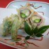 竹の子、チーズ、アスパラベーコン巻揚げ