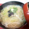 しじみ入り煮麺