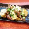 竹の子とホタルイカ木の芽醤油焼き