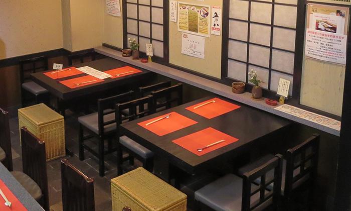 美味旬彩「塩井」テーブル席
