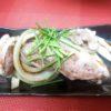 合鴨、白ネギ、玉葱焼き(ポン酢)